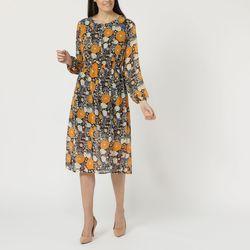 textil Mujer Vestidos cortos La Morena LA-261287 AMARILLO