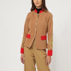 textil Mujer Chaquetas / Americana La Morena LA-290134 BEIGE