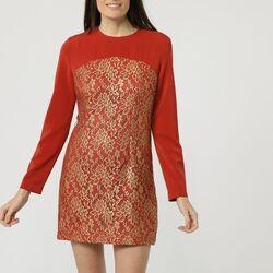 textil Mujer Vestidos cortos Nua Nua NU-150024 NARANJA