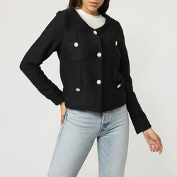 textil Mujer Chaquetas / Americana Sinty SI-040045 NEGRO