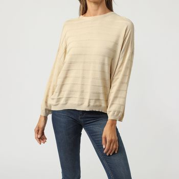 textil Mujer Jerséis Sinty SI-110016 BEIGE