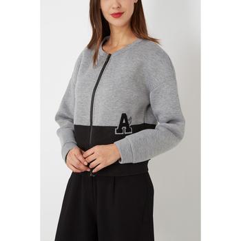 textil Mujer Chaquetas de punto Sinty SI-150001 GRIS