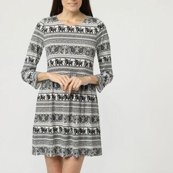textil Mujer Vestidos cortos Sinty SI-210016 NEGRO