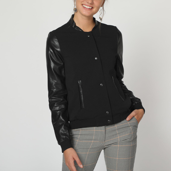 textil Mujer cazadoras Sinty SI-220008 NEGRO