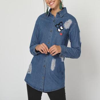 textil Mujer Chaquetas denim Sinty SI-260113 AZUL