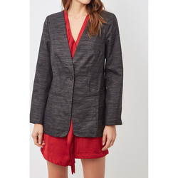 textil Mujer Chaquetas / Americana Sinty SI-260117 NEGRO