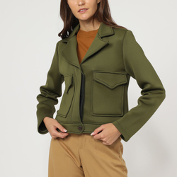 textil Mujer Chaquetas / Americana Sinty SI-260139 KAKI
