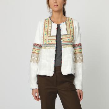 textil Mujer Chaquetas / Americana Sinty SI-260175 BLANCO