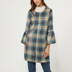 textil Mujer Abrigos La Morena LA-260990 AZUL