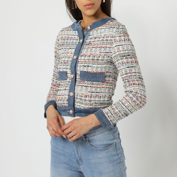 textil Mujer Chaquetas / Americana Anany AN-460098 AZUL