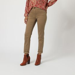 textil Mujer Pantalones chinos Anany AN-520002 BEIGE