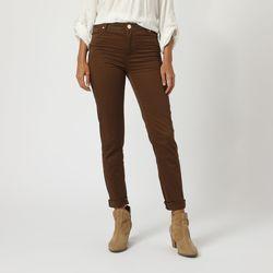 textil Mujer Pantalones Anany AN-590002 MARRON