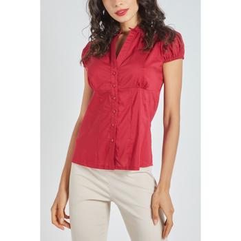 textil Mujer Camisas Sense CAMISA CLçSICA ROJO