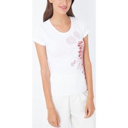 textil Mujer Camisetas manga corta Melon Kids 2008MLK007 BLANCO
