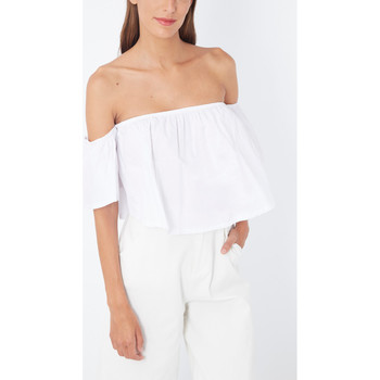 textil Mujer Tops / Blusas Love&money 41856 BLANCO
