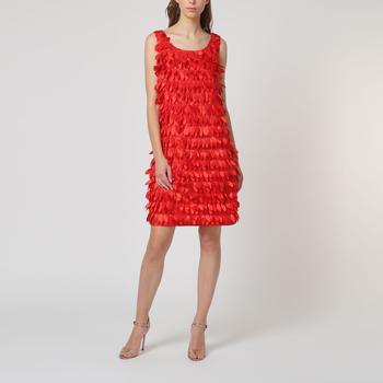 textil Mujer Vestidos cortos Tanna 6019 ROJO