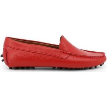 Zapatos Mujer Mocasín Made In Italia FOTOROMANZA ROSSO Rojo