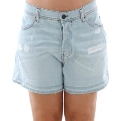 textil Mujer Shorts / Bermudas Sisley 4Z9R59206 SIS Azul claro