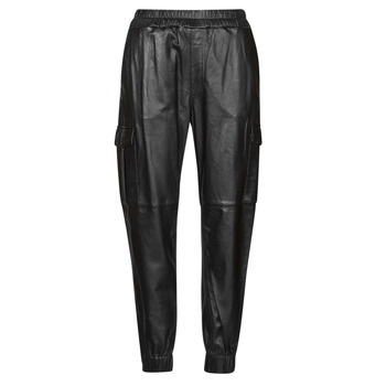 textil Mujer Pantalones con 5 bolsillos Oakwood CARGO Negro