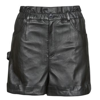 textil Mujer Shorts / Bermudas Oakwood JANNY Negro