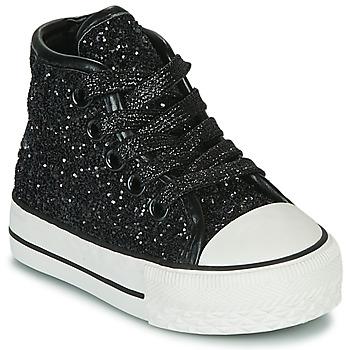 Zapatos Niña Zapatillas altas Citrouille et Compagnie OUTIL Negro