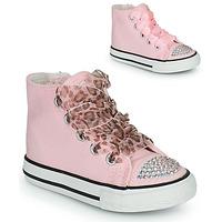 Zapatos Niña Zapatillas altas Citrouille et Compagnie OUTIL Rosa