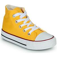 Zapatos Niños Zapatillas altas Citrouille et Compagnie OUTIL Amarillo