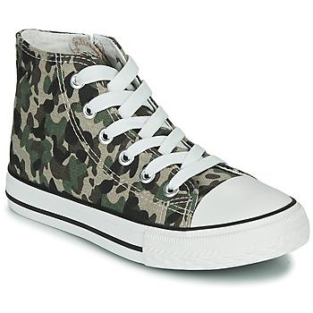 Zapatos Niños Zapatillas altas Citrouille et Compagnie OUTIL Camuflaje