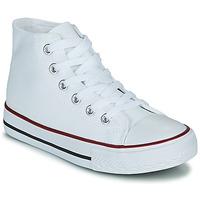 Zapatos Niños Zapatillas altas Citrouille et Compagnie OUTIL Blanco