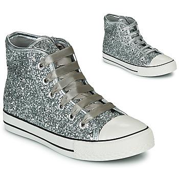 Zapatos Niña Zapatillas altas Citrouille et Compagnie OUTIL Plateado