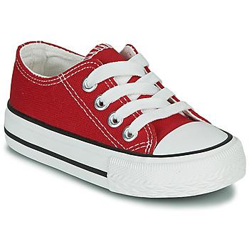 Zapatos Niños Zapatillas bajas Citrouille et Compagnie OTAL Rojo