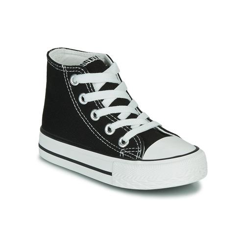 Zapatos Niños Zapatillas altas Citrouille et Compagnie OUTIL Negro