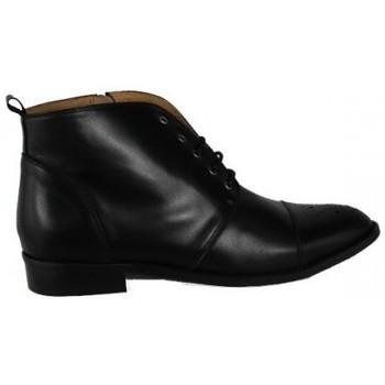 Zapatos Mujer Derbie Lolas BOTIN  CON CORDON Negro