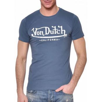 textil Hombre Camisetas manga corta Von Dutch  Azul