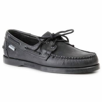 Zapatos Hombre Zapatos náuticos Sebago DOCKSIDES Negro
