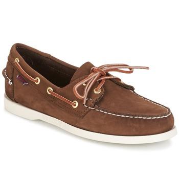 Zapatos Hombre Zapatos náuticos Sebago DOCKSIDES Oscuro