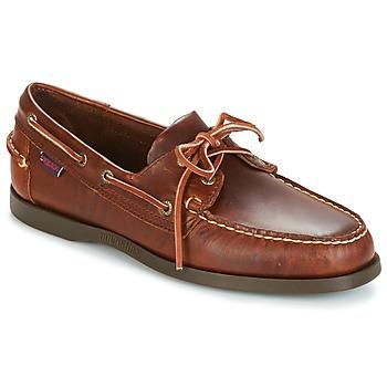Zapatos Hombre Zapatos náuticos Sebago DOCKSIDES Marrón