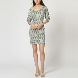 textil Mujer Vestidos cortos Laga D315 BEIGE