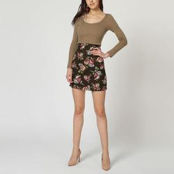textil Mujer Vestidos cortos Laga D633 VIOLETA