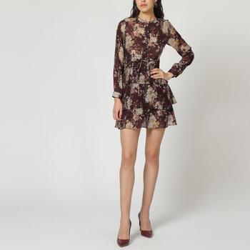 textil Mujer Vestidos cortos Laga D638 VIOLETA