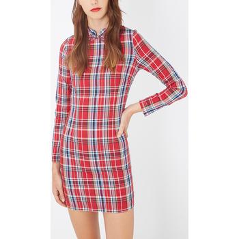 textil Mujer Vestidos cortos Laga D652 ROJO