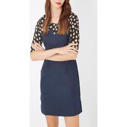 textil Mujer Vestidos cortos Laga D731 AZUL