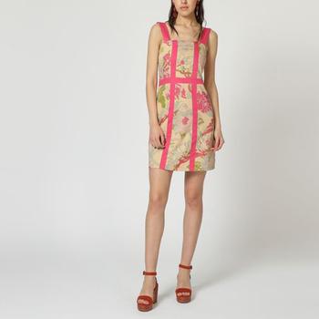 textil Mujer Vestidos cortos Laga D743 ROSA