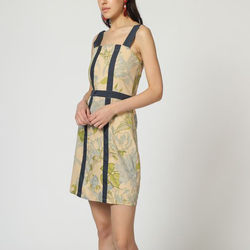 textil Mujer Vestidos cortos Laga D743 AZUL