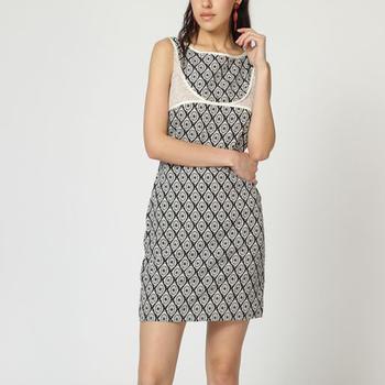 textil Mujer Vestidos cortos Laga D744 AZUL