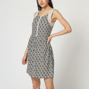 textil Mujer Vestidos cortos Laga D746 AZUL
