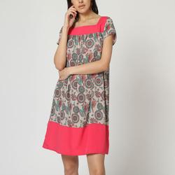 textil Mujer Vestidos cortos Laga D747 ROSA