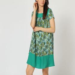 textil Mujer Vestidos cortos Laga D747 VERDE