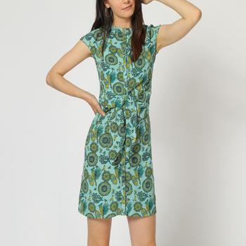 textil Mujer Vestidos cortos Laga D748 VERDE