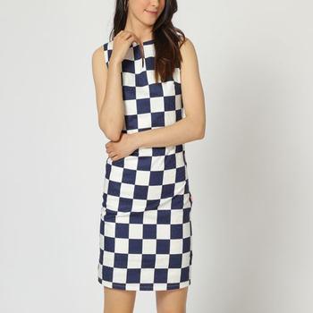 textil Mujer Vestidos cortos Laga D755 AZUL